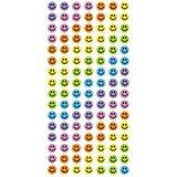 LKJELSMILES-R - Tim The Toyman Rainbow Jel Smile Stickers