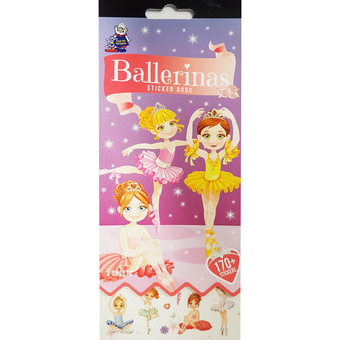 SSBK-BALLET-R - Tim The Toyman Ballerinas Sticker Book