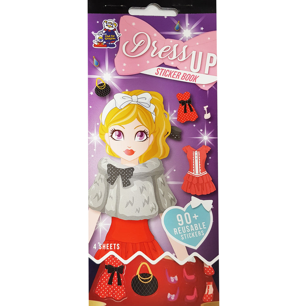 SSBK-DRESS UP-R - Tim The Toyman Dress Up Sticker Book