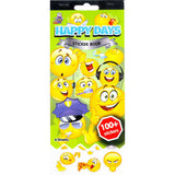 SSBK-HDSMILEY-R - Tim The Toyman Happy Days Smiley Sticker Book