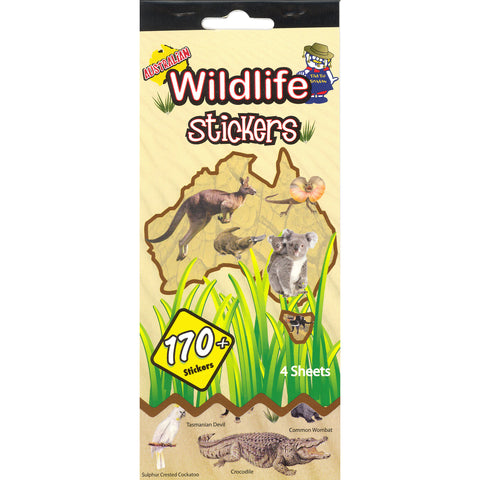 SSBK-LAND-R - Tim The Toyman Australian Wildlife Sticker Book