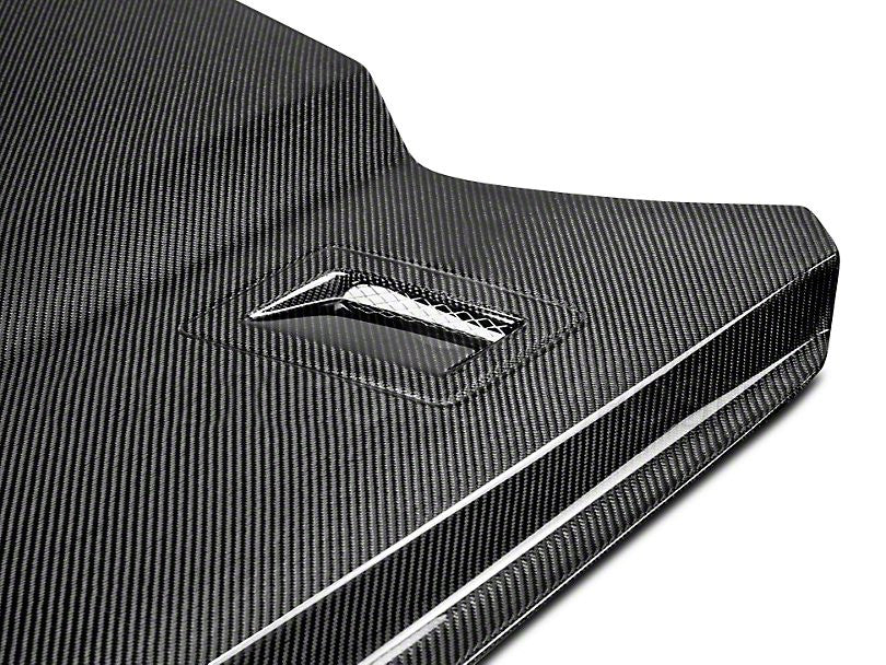 Anderson Composites Type-AT Hood - Carbon Fiber (15-17 Mustang)