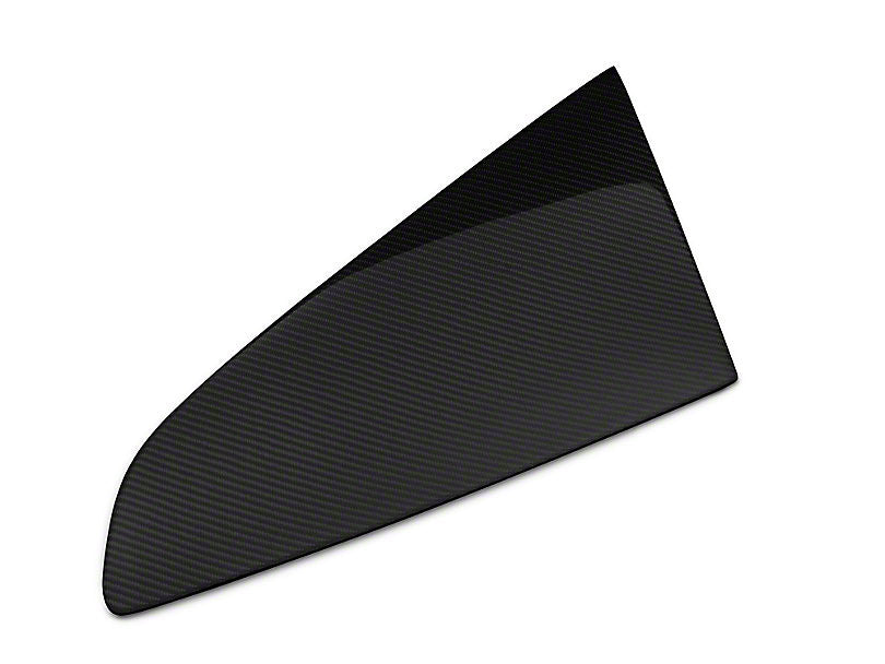 Anderson Composites Quarter Window Covers - Carbon Fiber (15-17 Mustang Fastback)