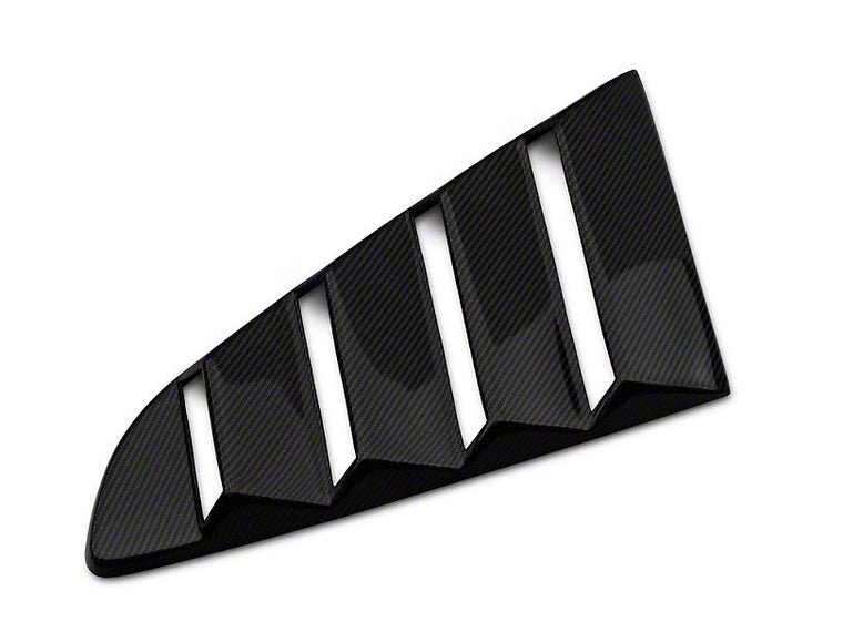 Anderson Composites Quarter Window Louvers - Carbon Fiber (15-17 Mustang)
