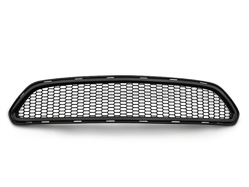 Anderson Composites Type-AE Mesh Upper Grille - Carbon Fiber (15-17 EcoBoost)