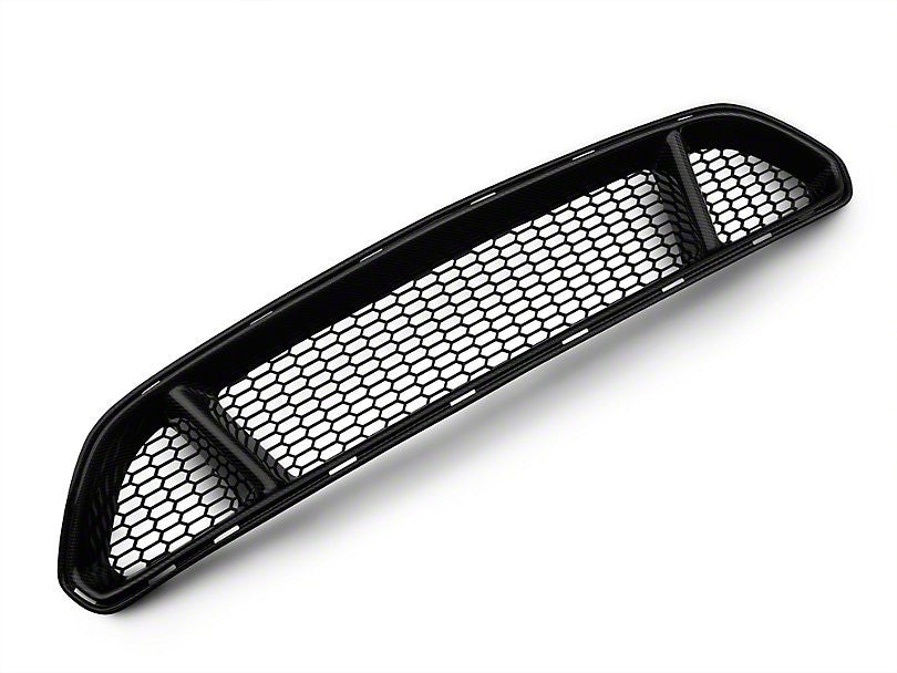 Anderson Composites Type-GT Upper Grille - Carbon Fiber (15-17 Mustang)