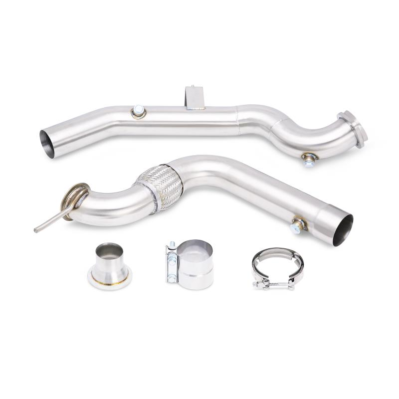 Mishimoto Downpipe - W/ Catalytic Converter (15-17 EcoBoost)