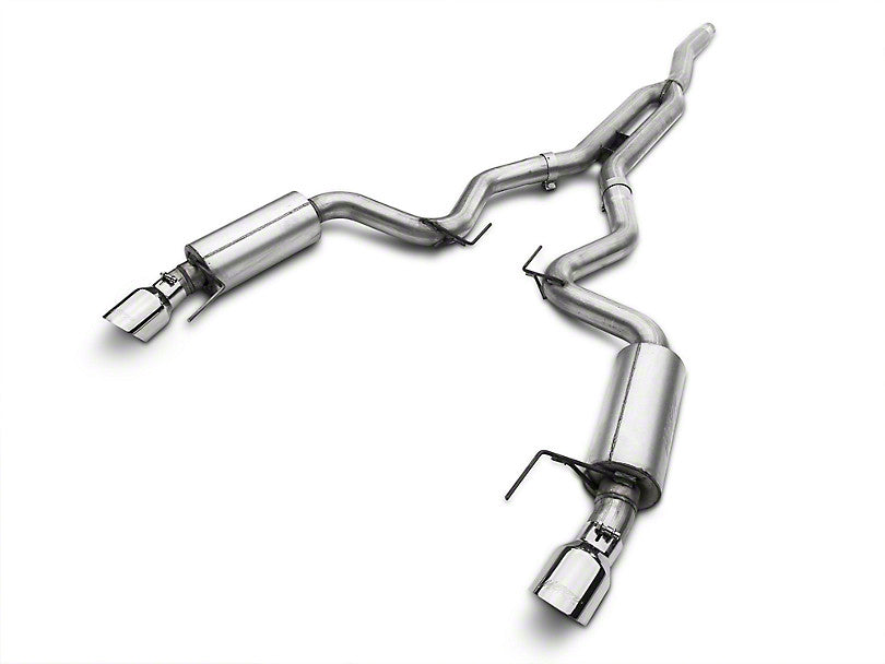 MBRP Street Cat-Back Exhaust - Aluminized (15-17 EcoBoost)