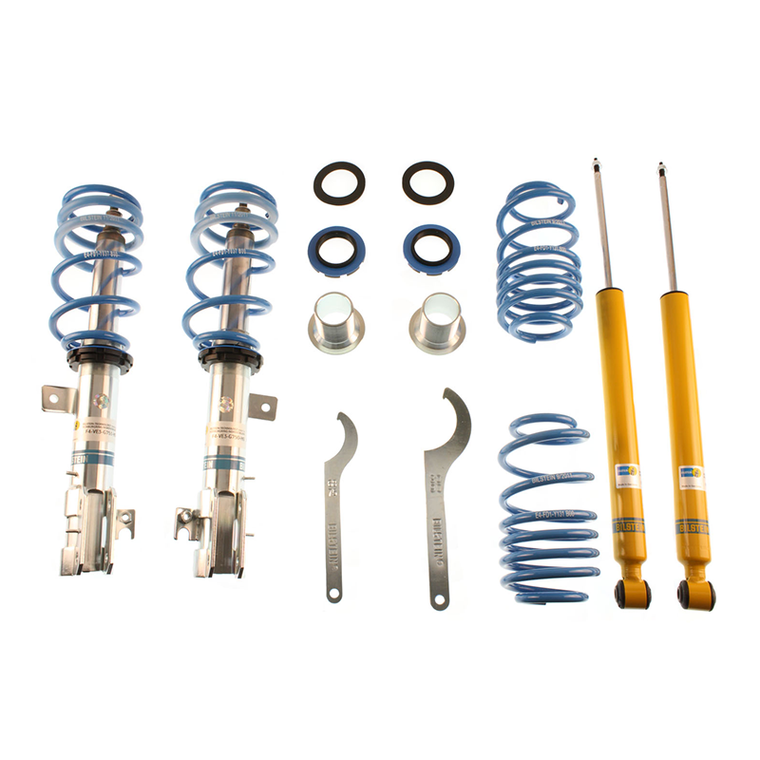 Bilstein B14 PSS Adjustable Coilover Kit (13-17 Focus ST)