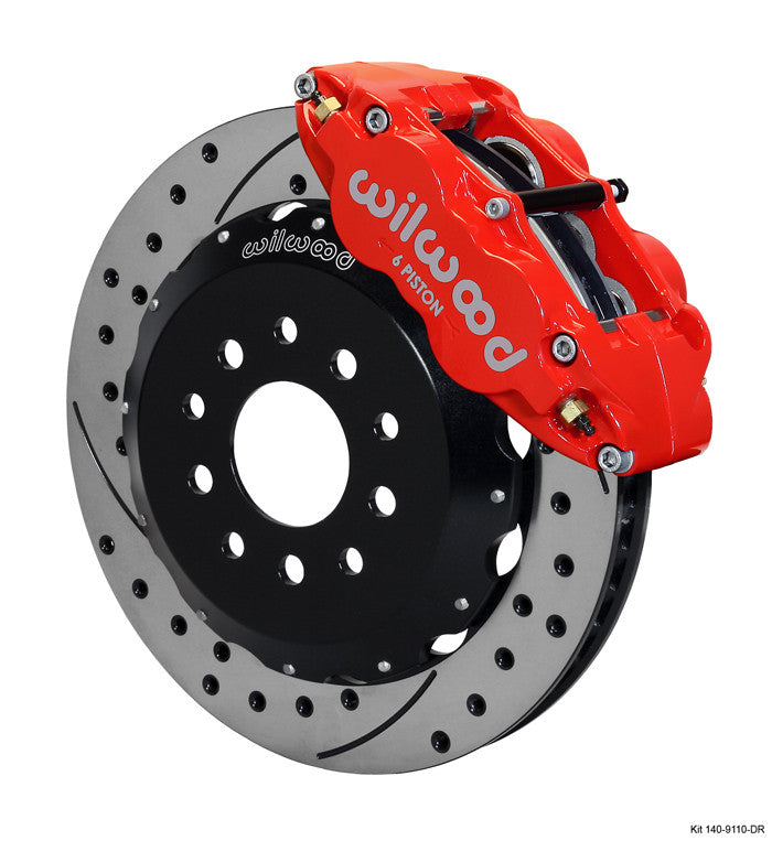 Wilwood 14'' Superlite 6R Big Brake Kit (Front) (11-14 GT / GT500)