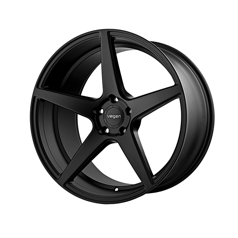 Velgen Classic5 Wheel Set 20x9 / 20x10.5 Satin Black  (2015-2018 Mustang)
