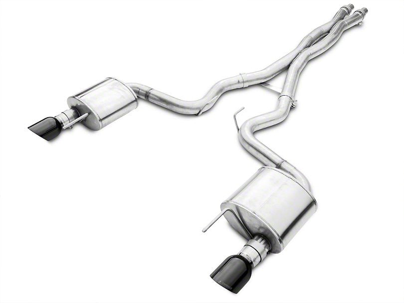 Corsa Xtreme 3IN Catback Exhaust - Coupe - Black Tips (15+ GT)
