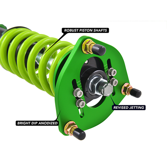 Fortune Auto 500 Gen6 Coilover System (16-17 Focus RS)