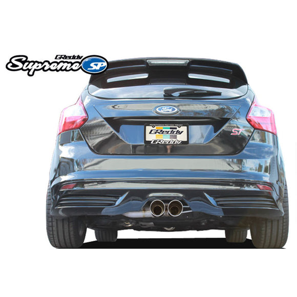 Greddy Supreme SP Cat-Back Exhaust System (13-14 Focus ST)