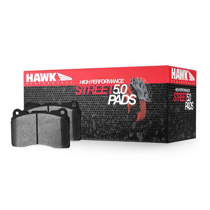 Hawk Performance HPS-5.0 Rear Brake Pad Set (15-17 Base GT)