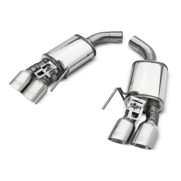 Magnaflow Competition Cat-Back Exhaust - Polished (15-18 GT350)