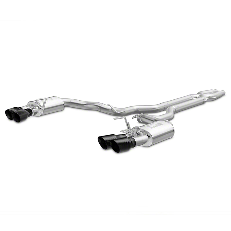 Magnaflow Competition Cat-Back Exhaust - Carbon Fiber Tips (15-18 GT350)