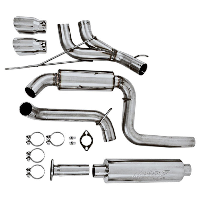 "MBRP Pro Series 3"" Cat-Back Exhaust System (13-17 Focus ST)"