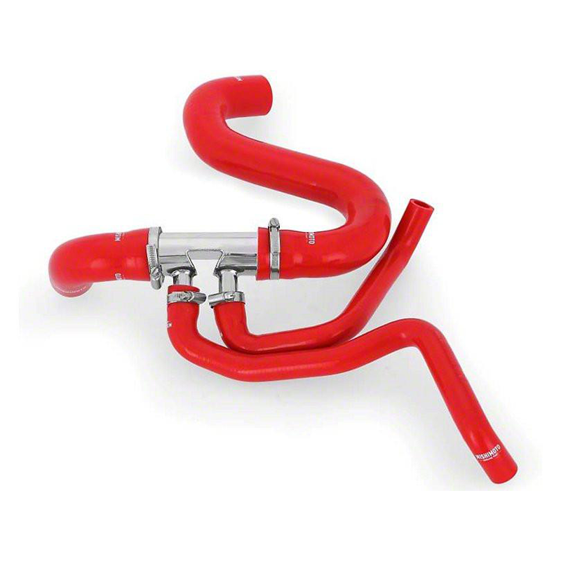 Mishimoto Silicone Lower Radiator Hose Kit - Red (15-17 GT)