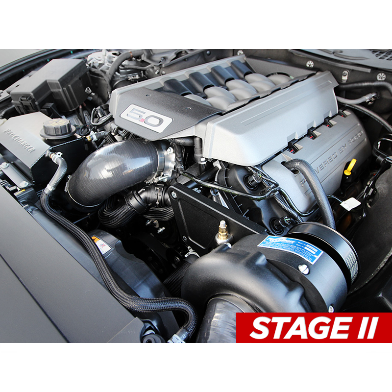 Procharger HO Stage II Intercooled Supercharger System - Tuner (2015-2017 GT)