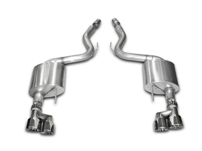 Corsa Sport Axle-Back Exhaust - Quad Tips (15-17 GT)
