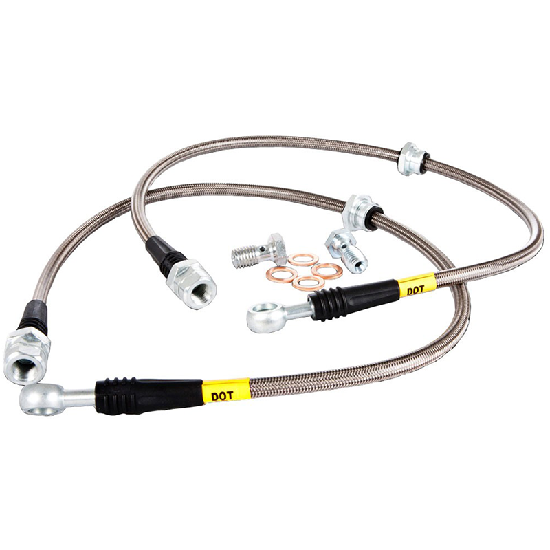 StopTech Stainless Steel Braided Brake Lines - Rear (13-17 Focus ST)