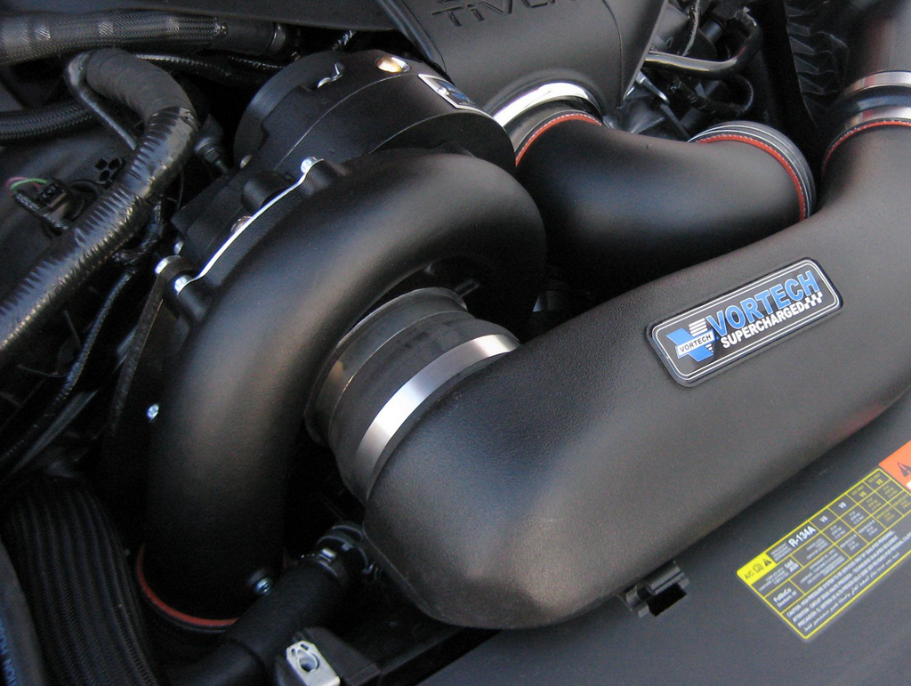 Vortech Supercharger System - Black (2011-2014 Mustang GT)