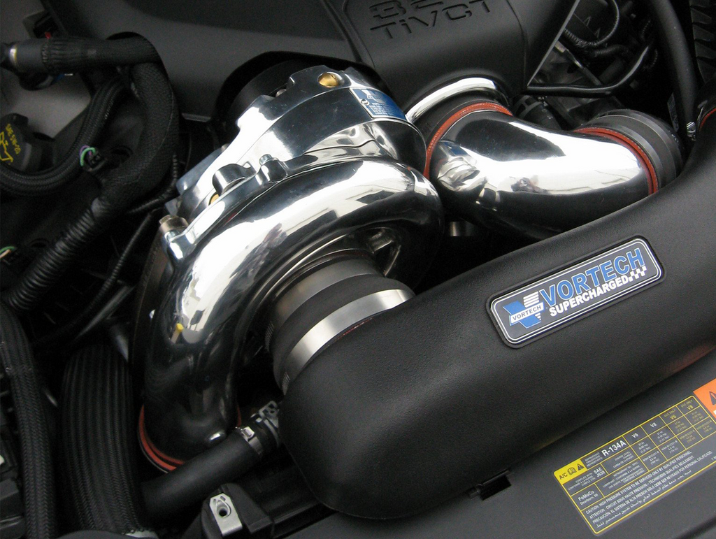 Vortech Supercharger System - Polished (2011-2014 Mustang GT)