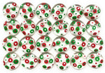 POLKA DOTS - (Christmas) Red, White & Green