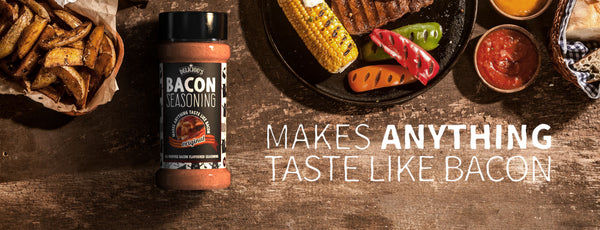 The story of Deliciou's Bacon Seasoning