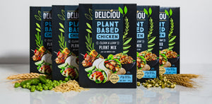 Deliciou Plant-Based Chicken 5 pack