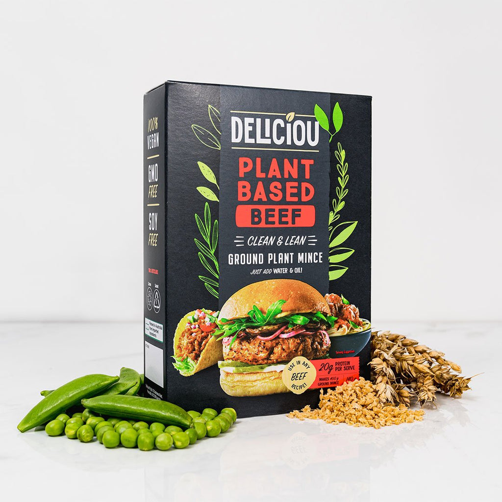 Deliciou Plant Based Beef
