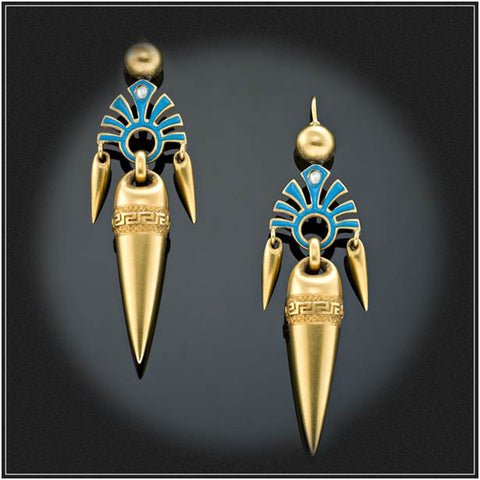 ETRUSCAN STYLE EARRINGS