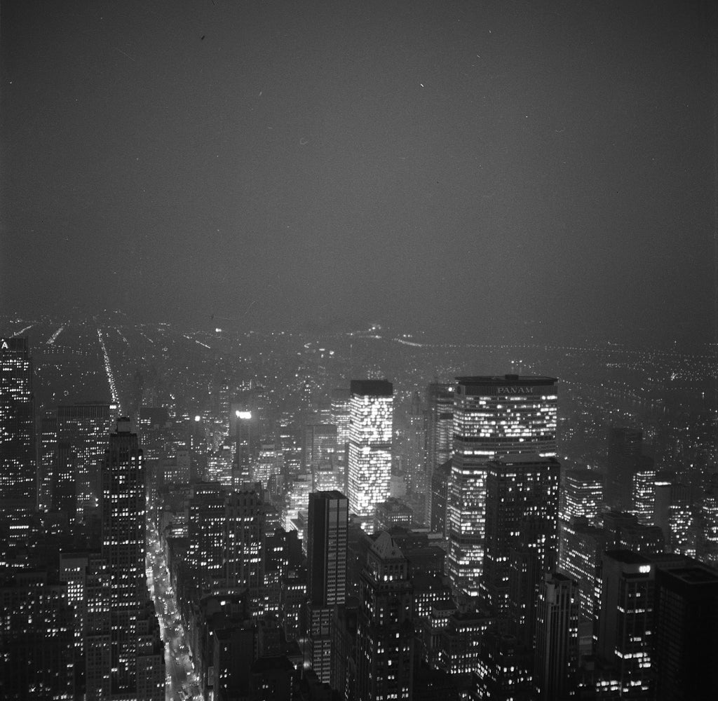 "Robert Lennox Suggett. ""New York Lights"", 1963"