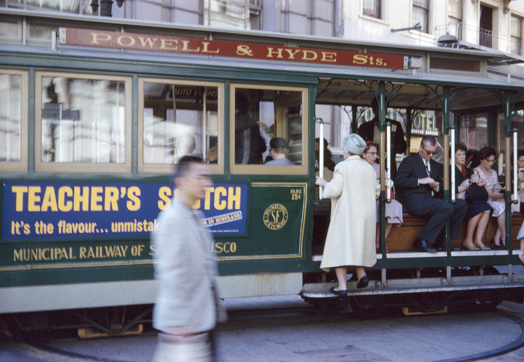 Robert Lennox Suggett - San Francisco Tram 1963