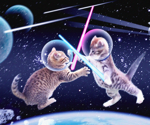 Statement Re: Legal Settlement With Lucasfilm + Cats in Space Launch