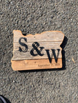 State Signs - Steel Letter/Initials/Name/Address