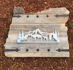 Barndoor State Signs - Steel Landmarks/Objects/Hobby Designs