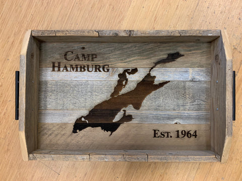 Reclaimed Wood Trays - Object & Landmark Burns