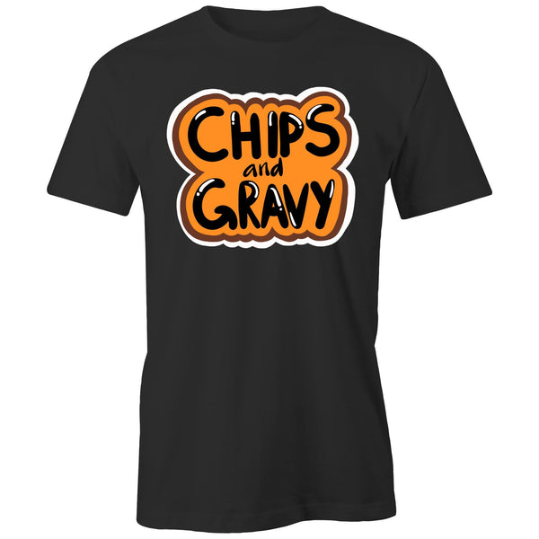 Chips and Gravy Mens Sizes S - L