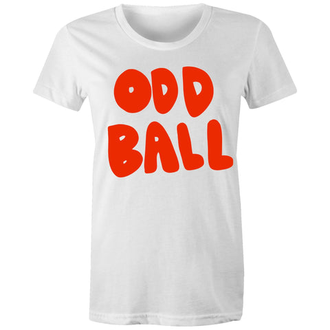 Oddball - Womens T-shirt sizes 8-14