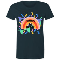 Young at Heart Birthday T-shirt L - XXL (14 - 18)