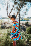 Rainbow Scribble Dress *Sizes 2 & 3 left