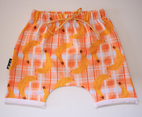 Banana Long Shorts (sizes 1, 6, 8 & 10 left)