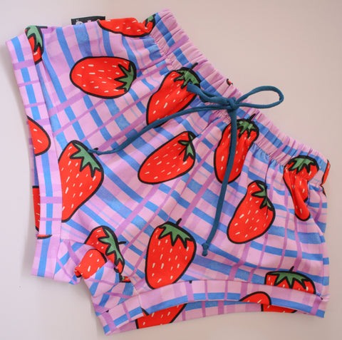 Strawberry Short Shorts *Size 8 left