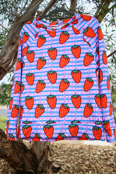 Adults Strawberry Jumper Size 12-14