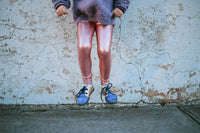 Pink Metallic Leggings (Size 3 left)