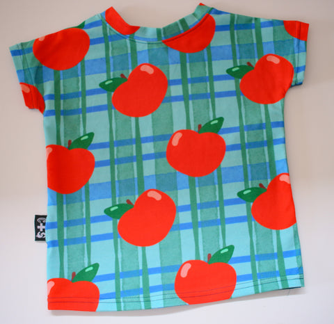 Apple Tee (Sizes 6-12 mth, 1, 5 & 10 Left)