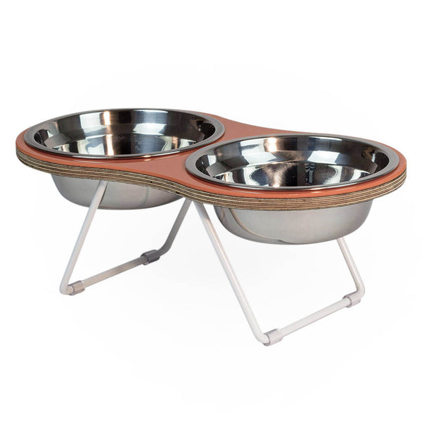 THE PEANUT 2 DOG BOWL