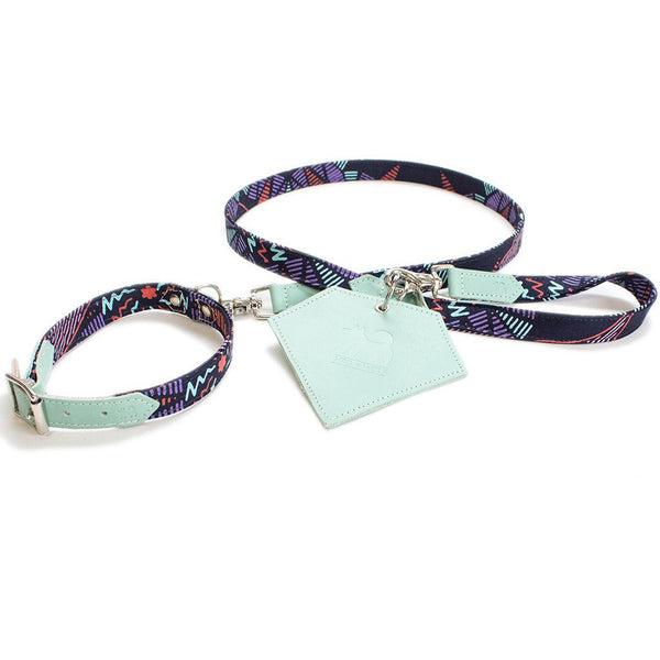 GALAXY SPRITE DOG COLLAR